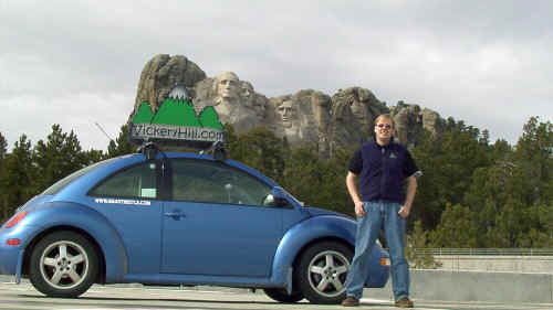 mount rushmore and the smart beetle