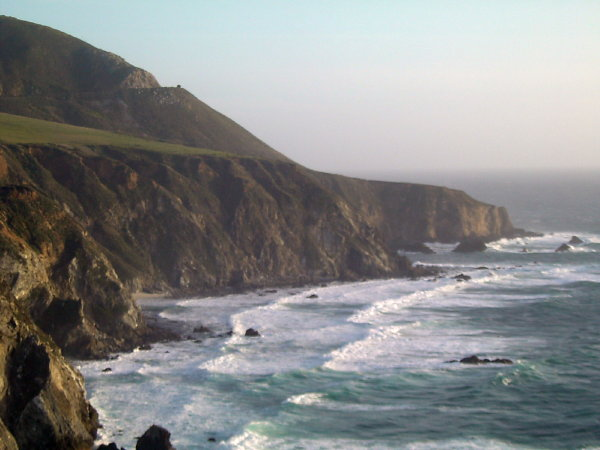 cliffs of PCH