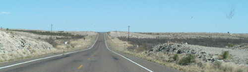 texas big wide roads