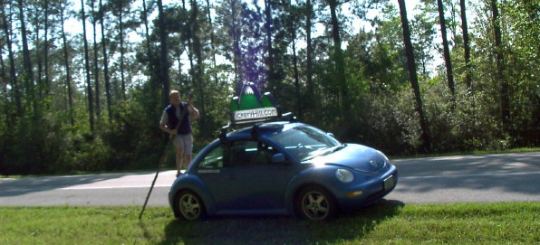 guiding the smartbeetle 'riverboat' around mississippi
