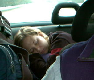 carrie eubanks sleeping