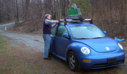 removing the sign on the smartbeetle